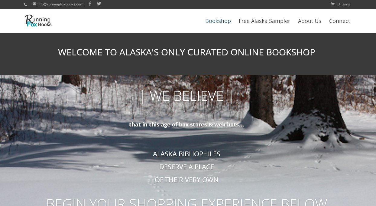 Running Fox Books site